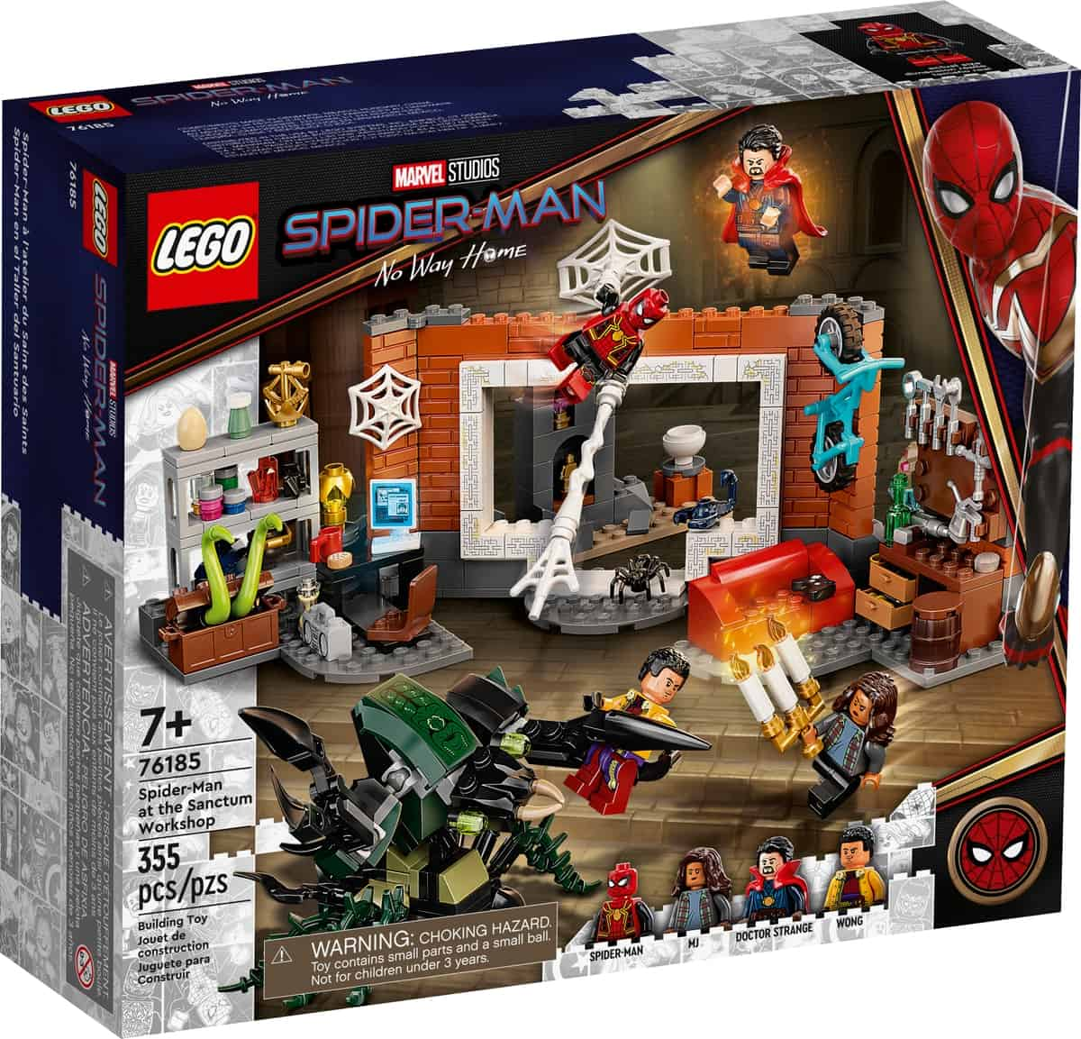 lego 76185 spider man w warsztacie w sanctum