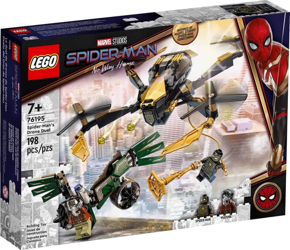 lego 76195 bojowy dron spider mana