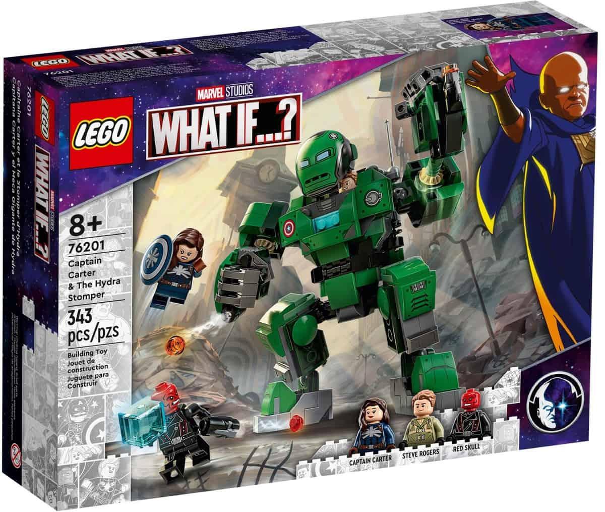 LEGO 76201 Captain Carter & The Hydra Stomper - 20210702