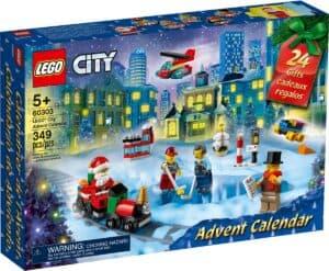 kalendarz adwentowy lego 60303 city