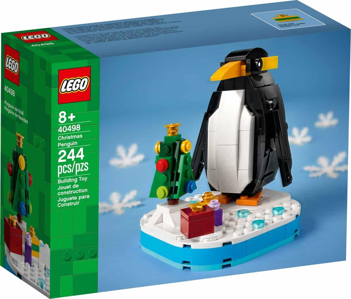 lego 40498 bozonarodzeniowy pingwin