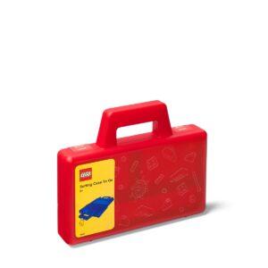 lego 5005769 przezroczysta czerwona przenosna walizka do sortowania