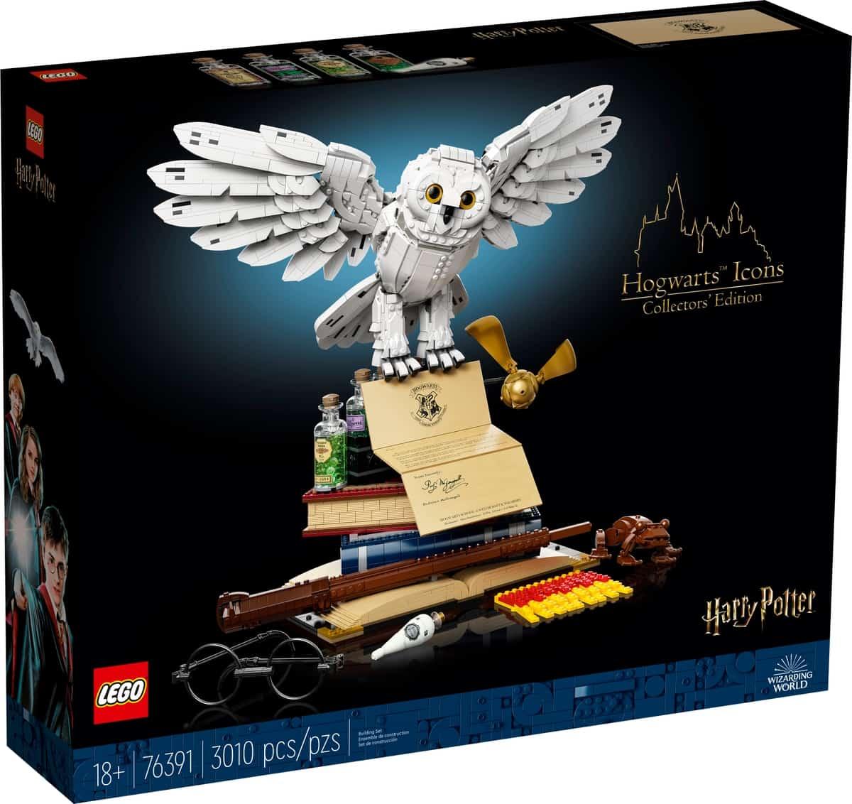lego 76391 ikony hogwartu edycja kolekcjonerska